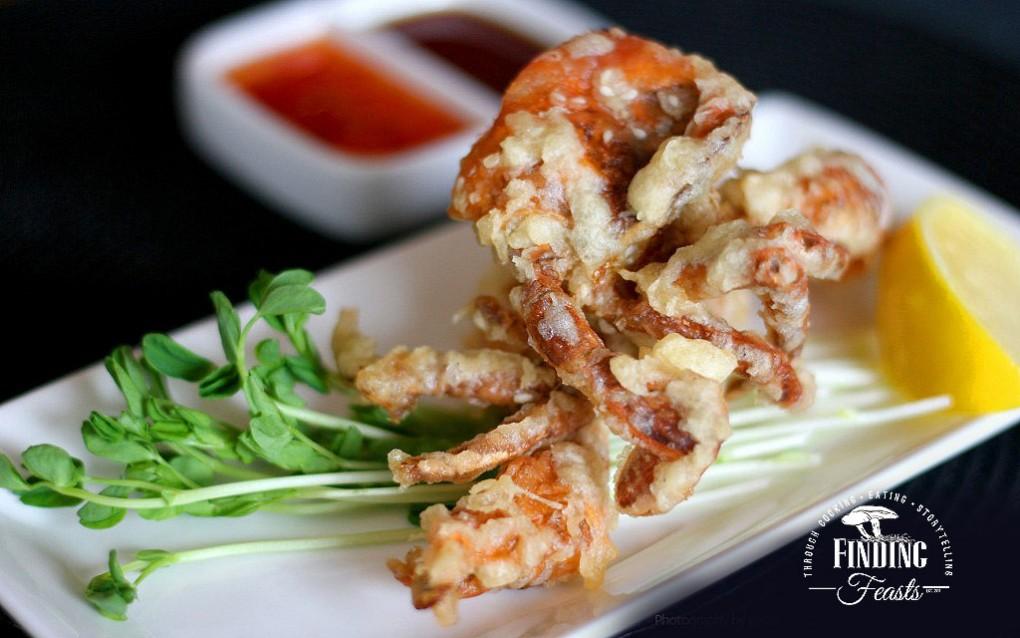 Soft Shell Crab in a Sesame Seed Tempura