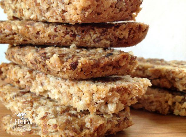 Crunchy Barley and Oat Bars