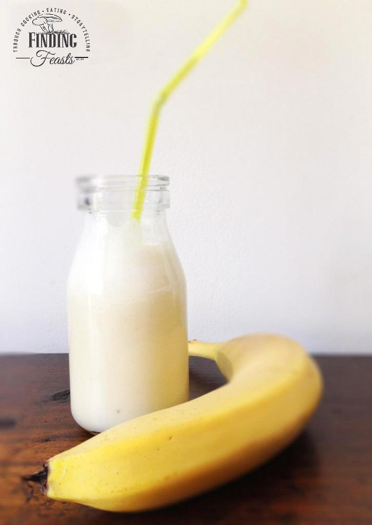 Banana Egg Flip Thickshake