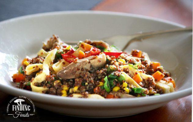 Finding Feasts - Vietnamese Chicken w Red Quinoa Stir Fry