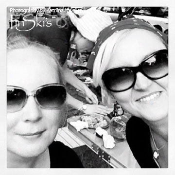 Katriina Mueller and Izabella Hyde | FinSki's