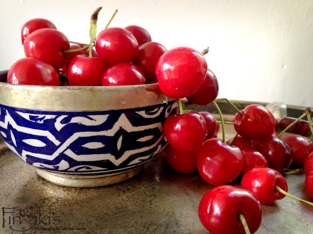 FinSkis Chai Cherry Compote