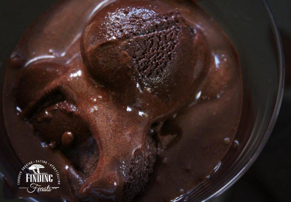 Rich Dark Chocolate Sorbet