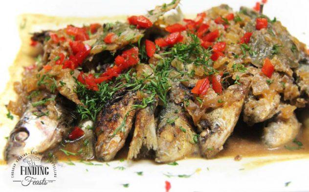 Sweet & Sour Sardines