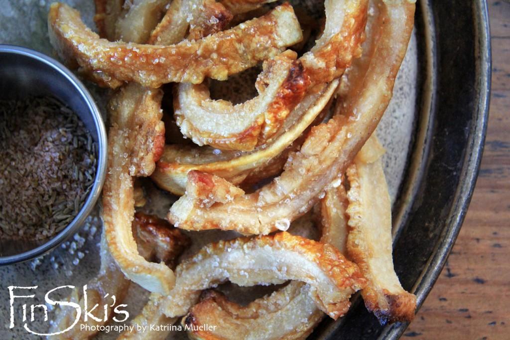 Pork Scratchings w Spicy Cumin Salt