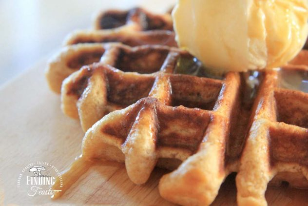 Finding Feasts - Belgium Waffle w Oats