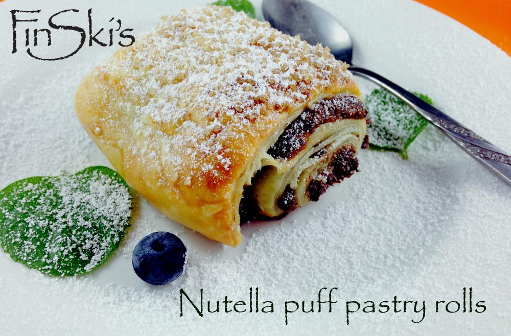 FinSki's Nutella Pastry Roll 1