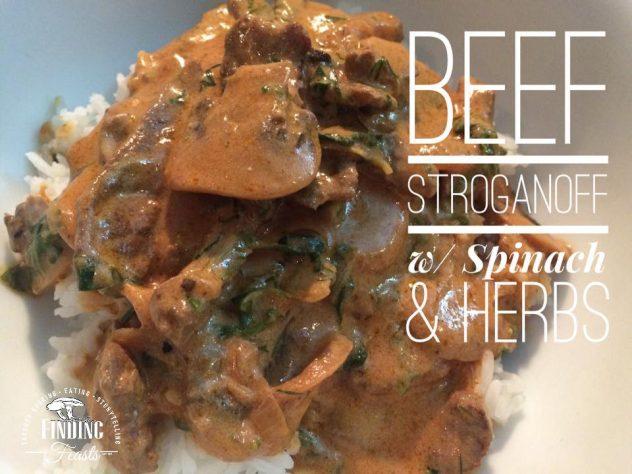 Finding Feasts - Beef Stroganoff