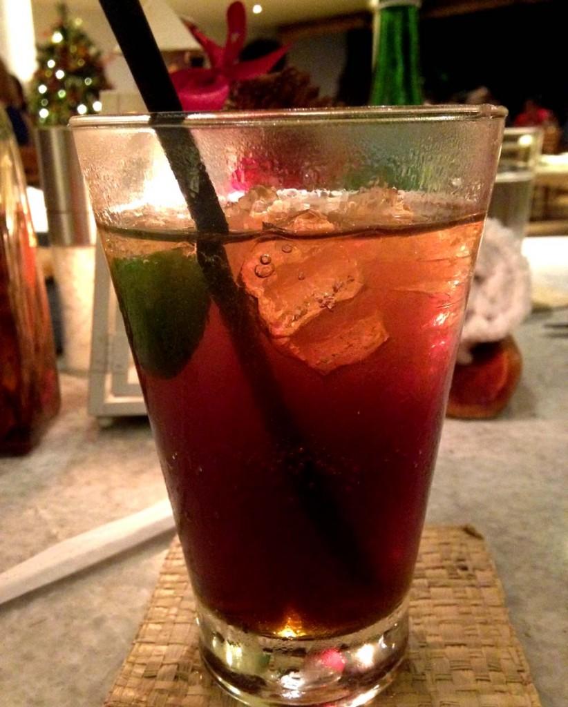 Grand Hyatt Salsa Verde Cocktails