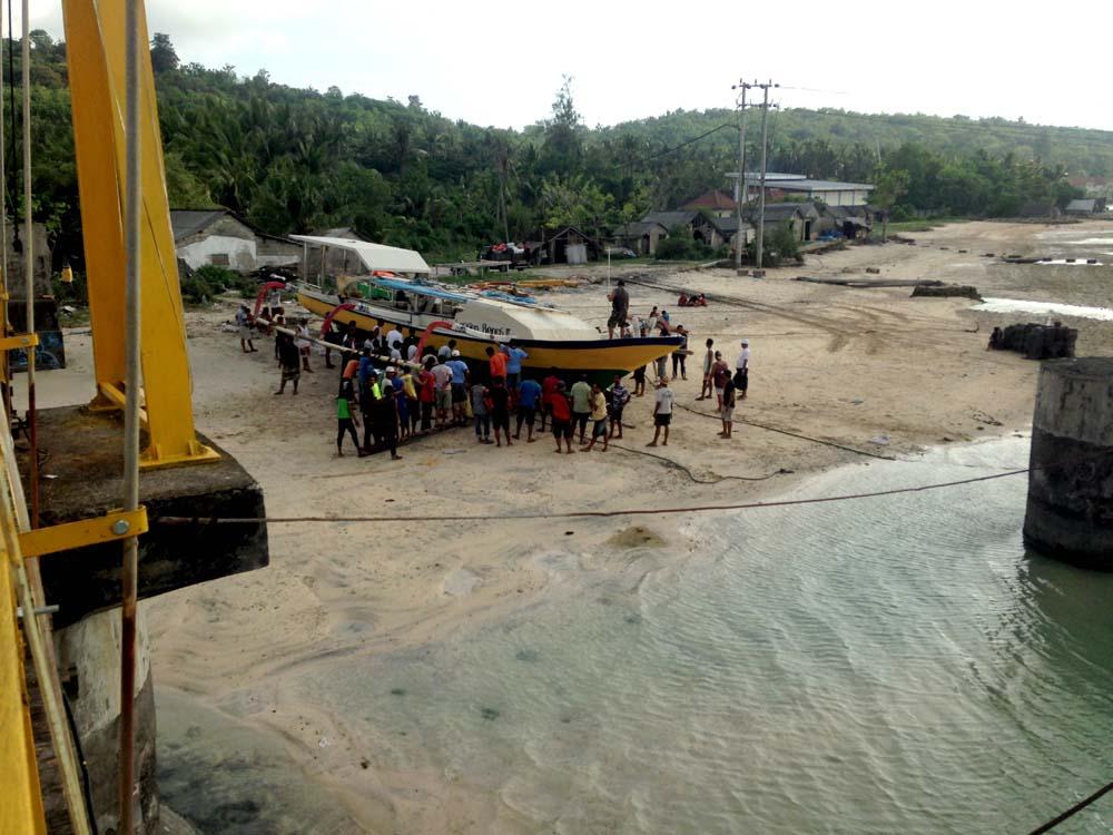 Nusa Lembongan Suspension Bridge