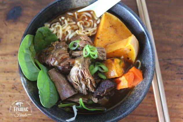 Spicy Cumin Lamb Noodle Soup