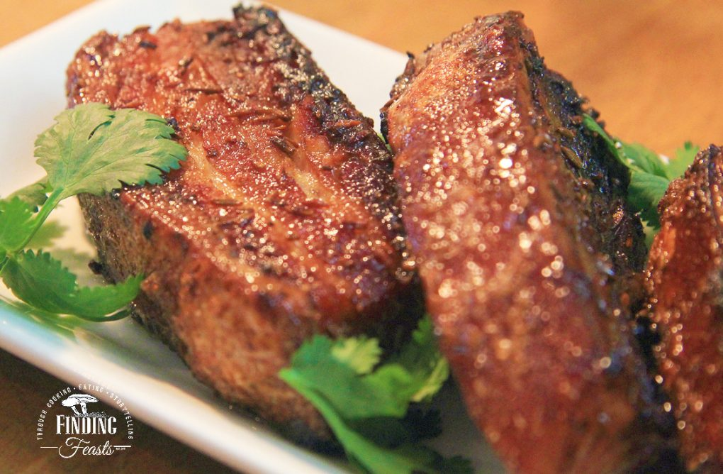Tamarind Glazed Fennel & Cumin Seed Pork Ribs