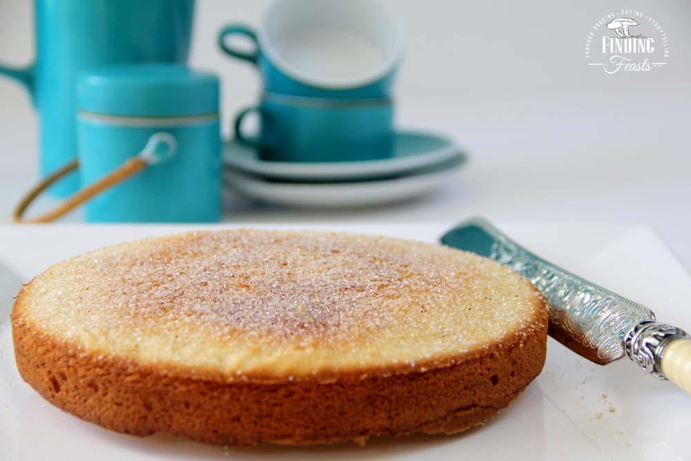 Vanilla Bean Sugar Tea Cake